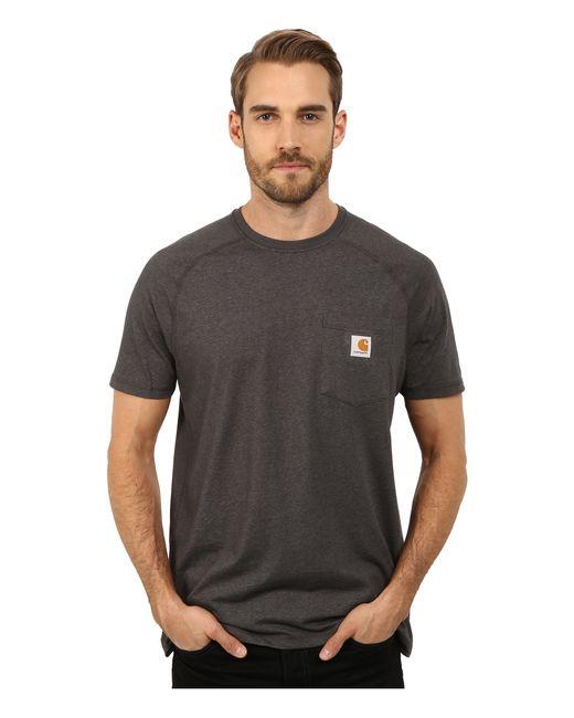 Carhartt | Black Force® Cotton Delmont Short-sleeve T-shirt for Men | Lyst