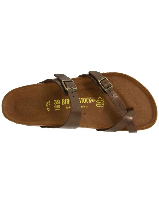 Birkenstock Mayari Cross Strap Sandals In Khaki Mocha Lyst
