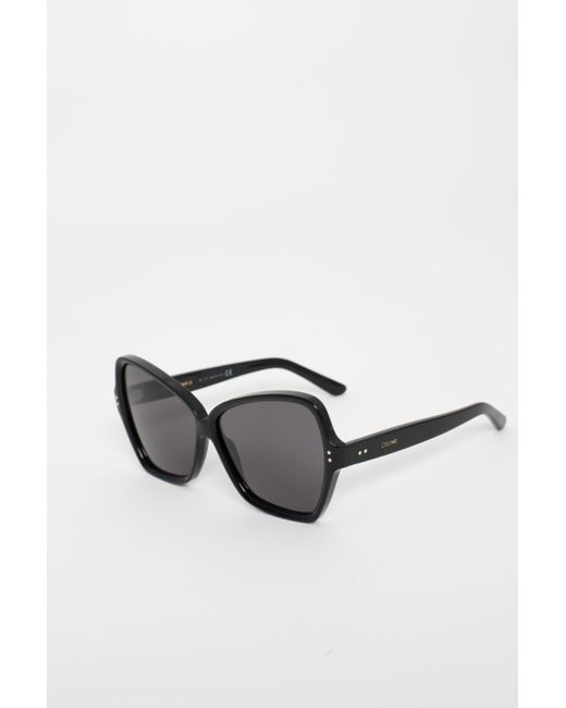 d404fee719c ... Céline - Black Butterfly Sunglasses - Lyst