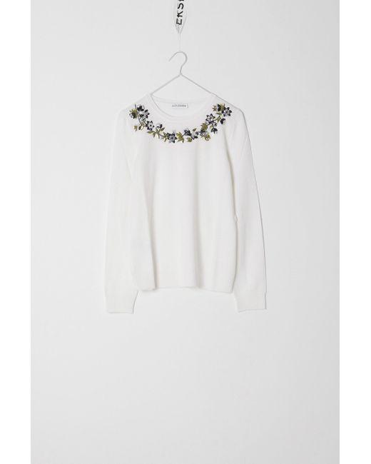 Altuzarra | White Hermoine Sweater | Lyst