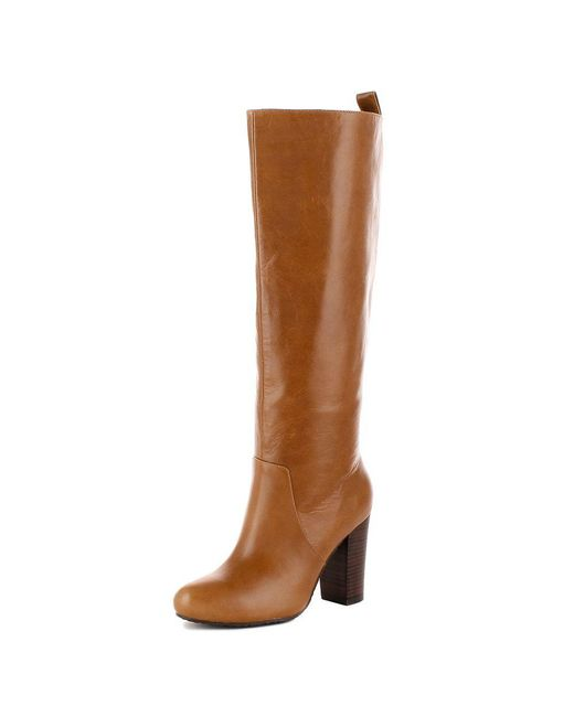 Elaine Turner - Brown Justine Boot In Saddle - Lyst