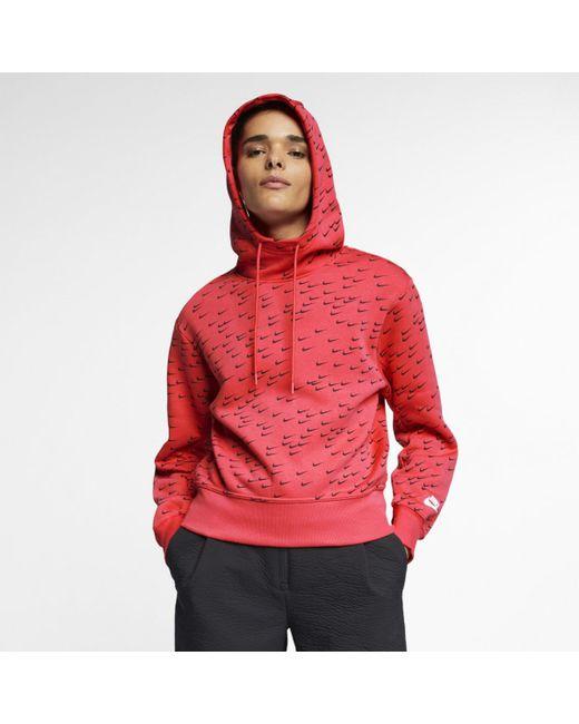 cd025b8fe420f Nike - Pink Sportswear Sweatshirt - Lyst ...