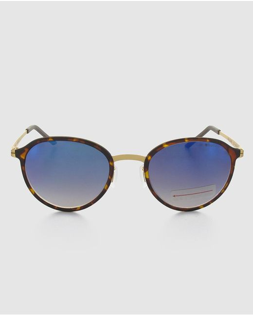 West   Brown Unisex Sunglasses With A Havana Polycarbonate Frame   Lyst
