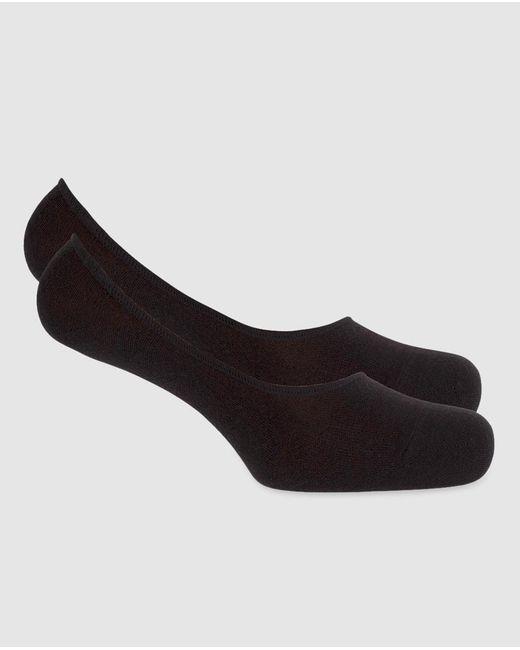 Punto Blanco - Black Footie Socks for Men - Lyst