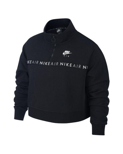 Nike Black Air Plus Size Sweatshirt