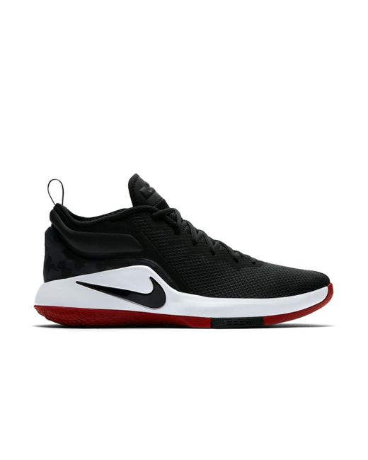 6156e4ab6f1 coupon code for nike black lebron witness ii basketball shoes for men lyst  9be6e 349e2