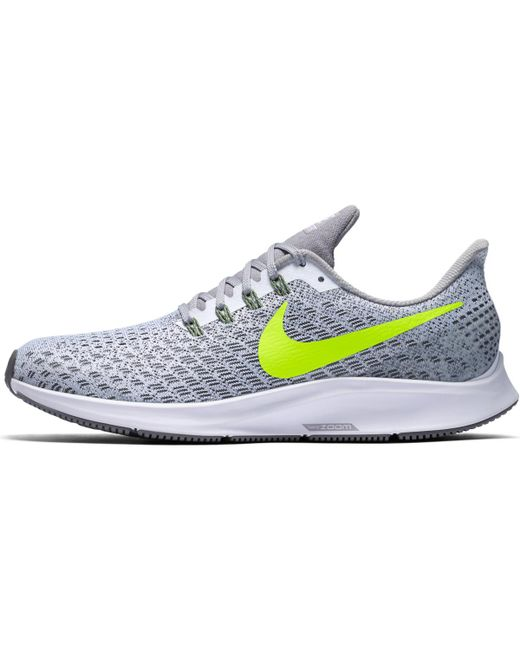 39913692a441 ... Nike - White Air Zoom Pegasus 35 Running Shoes for Men - Lyst ...