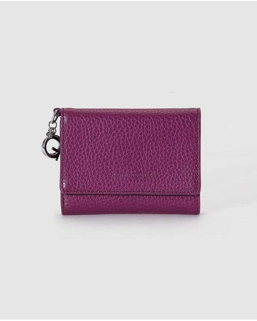 Gloria Ortiz | Wo Purple Wallet With Flap Fastening And Pocket On The Outside | Lyst