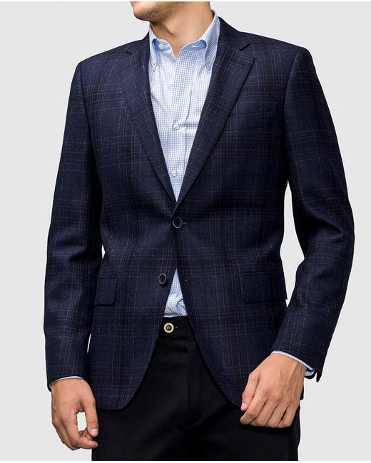 Mirto | Classic Blue Checked Blazer for Men | Lyst