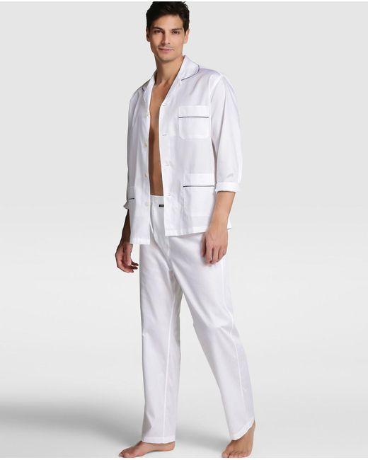 Mirto - Mens White Pyjamas for Men - Lyst