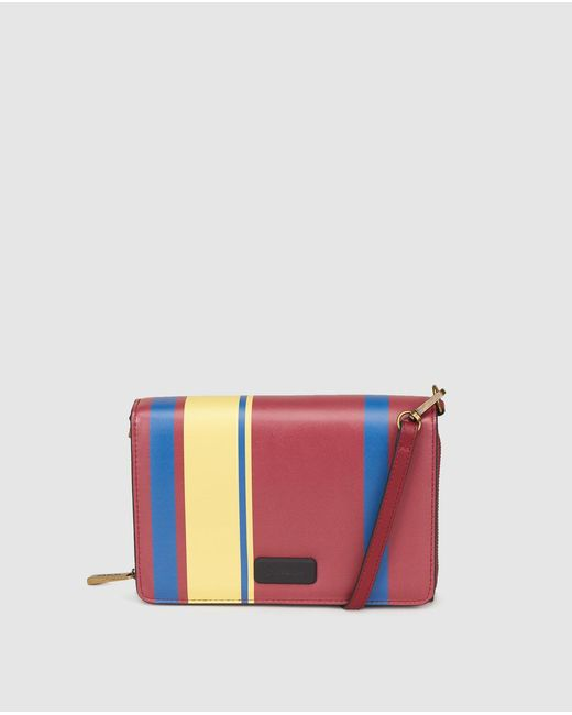 Jo & Mr. Joe | Multicolor Matmos Small Crossbody Bag With Multicoloured Stripes | Lyst