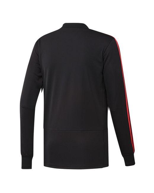 ba5d6d648e7 ... Adidas - Black Real Madrid Cf 2018-2019 Ultimate Training Sweatshirt  for Men - Lyst