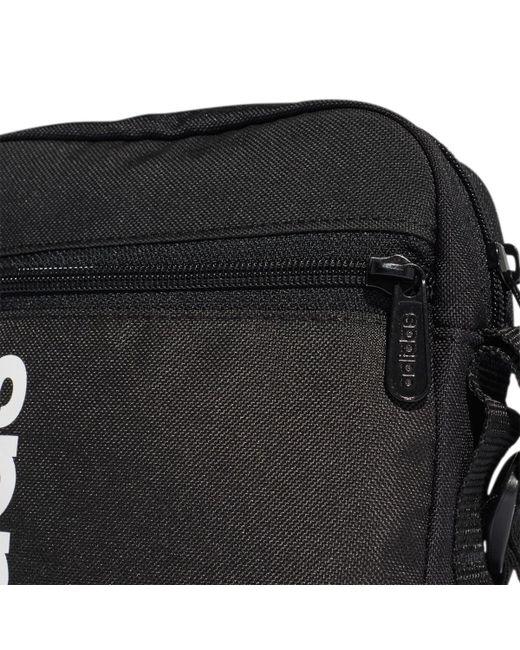 bdfbe92baf0 ... Adidas - Black Linear Core Bag for Men - Lyst