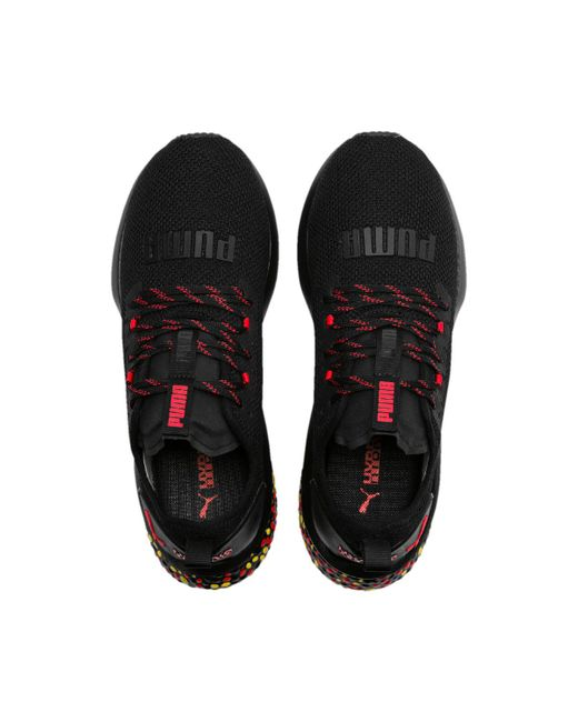 cad8d2162a90 ... PUMA - Black Hybrid Nx Running Shoes for Men - Lyst ...