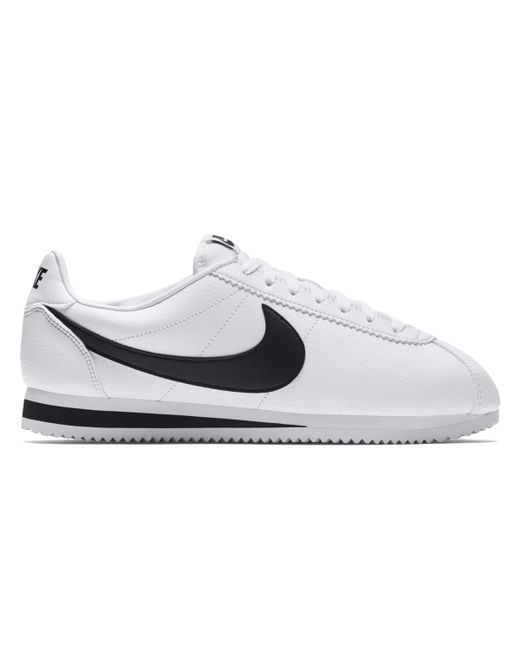 3e29a81b4ee5 ... australia nike white classic cortez leather casual trainers for men lyst  f1260 4bc6d