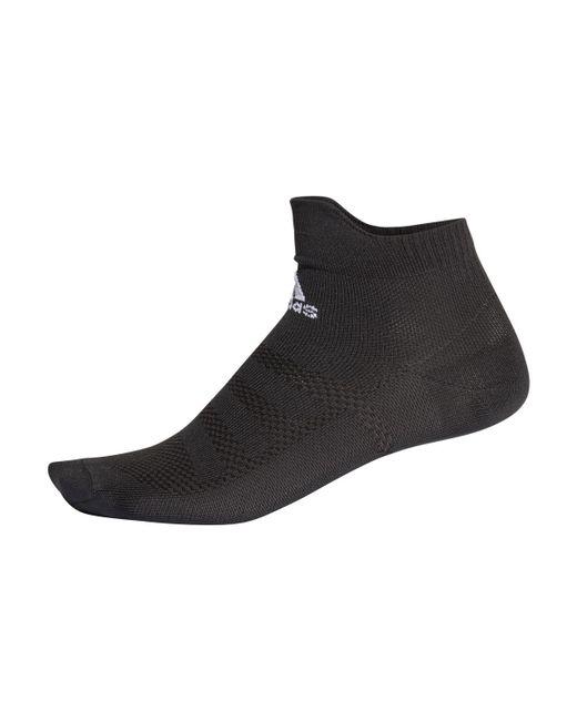 8036a2bb1 ... Adidas - Black Alphaskin Ultralight Ankle Running Socks for Men - Lyst  ...