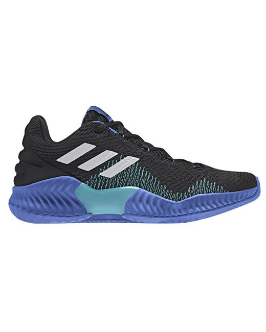 0543e7b27 Adidas - Blue Pro Bounce 2018 Low Basketball Shoes for Men - Lyst ...