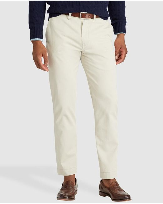 Polo Ralph Lauren - Natural Beige Regular-fit Chinos for Men - Lyst