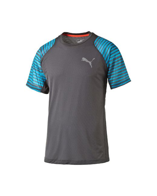 PUMA - Gray Vent Graphic T-shirt for Men - Lyst