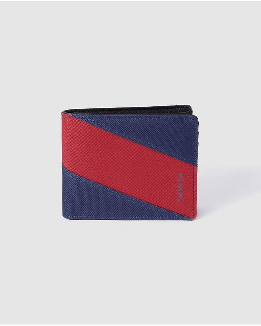 Jo & Mr. Joe - Mens Combined Navy Blue And Red Wallet for Men - Lyst