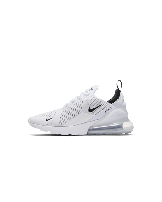 best value 07a38 da241 ... Nike - White Air Max 270 Casual Trainers for Men - Lyst ...