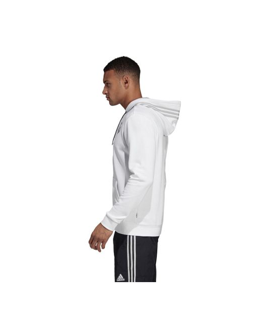 9b0e5632e26 ... Adidas - White Real Madrid Cf 2018-2019 Sweatshirt for Men - Lyst ...
