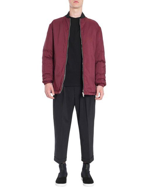 McQ Alexander McQueen   Multicolor Oversize Bomber Jacket In Technical Fabric for Men   Lyst