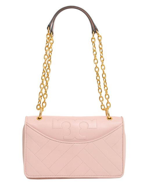 Tory Burch - Pink Alexa Leather Crossbody Bag - Lyst
