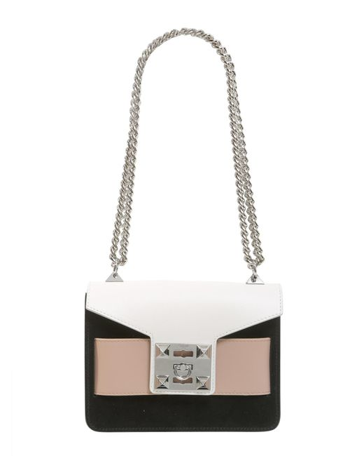 "Salar - ""mila Multicolor"" Leather Crossbody Bag - Lyst"