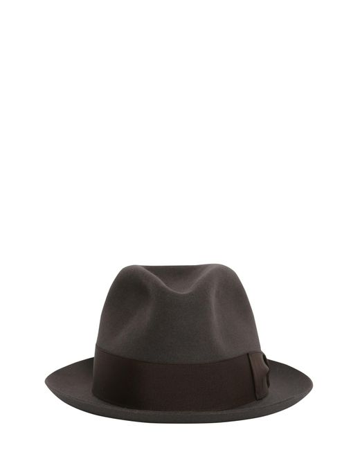 Borsalino - Brown Cappello In Feltro Ala Piccola for Men - Lyst