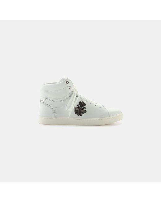 Dolce & Gabbana - White Cs1476 Ab731 8b441 High Top Sneaker for Men - Lyst