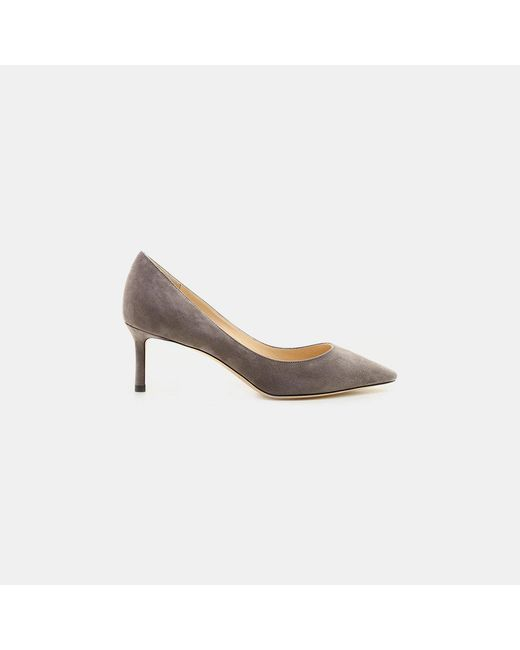 Jimmy Choo - Gray Romy 60 Pumps - Lyst