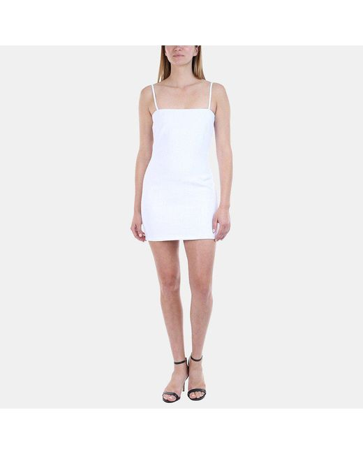 Sir. The Label - White Gracie Mini Dress - Lyst