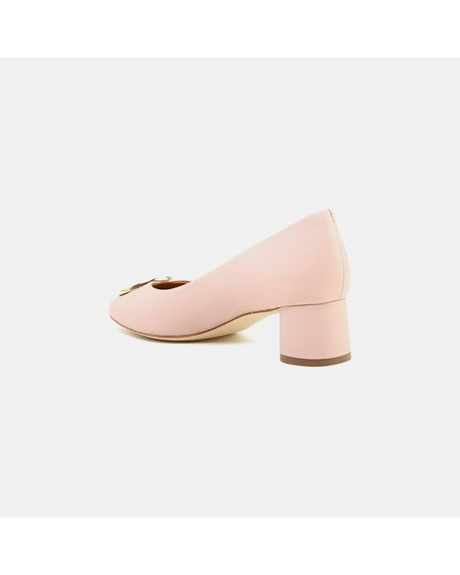 ac1bb75ee6f ... Tory Burch - Pink Caterina Nappa Leather Pump - Lyst ...