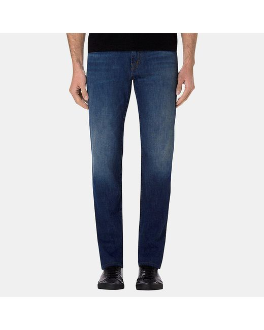 J Brand | Blue Kane Straight Fit Helium for Men | Lyst