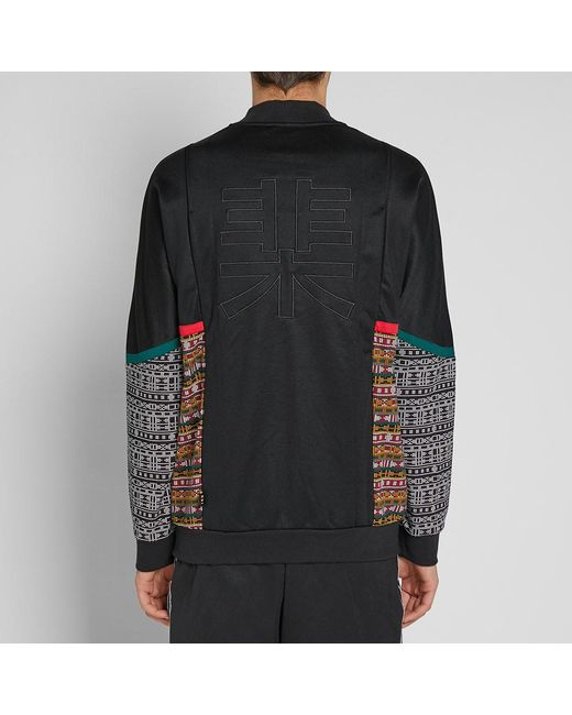 aa5591ac01 ... Adidas - Black By Pharrell Williams Solarhu Track Top for Men - Lyst ...