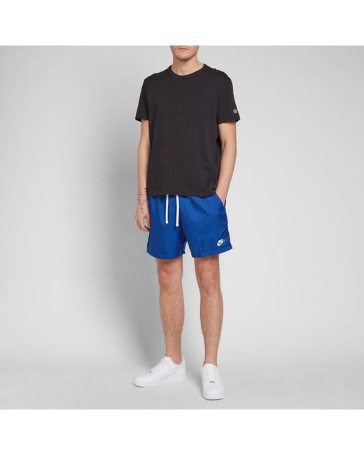a0fb8270ad ... Nike - Blue Retro Woven Short for Men - Lyst