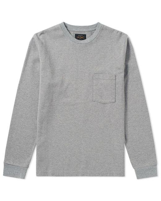 Beams Plus | Gray Pocket Jersey Crew for Men | Lyst