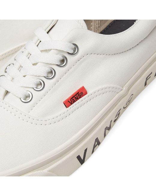 f3f1dac03c Lyst - Vans X Wood Wood Fans Og Era Lx in White for Men - Save 30%