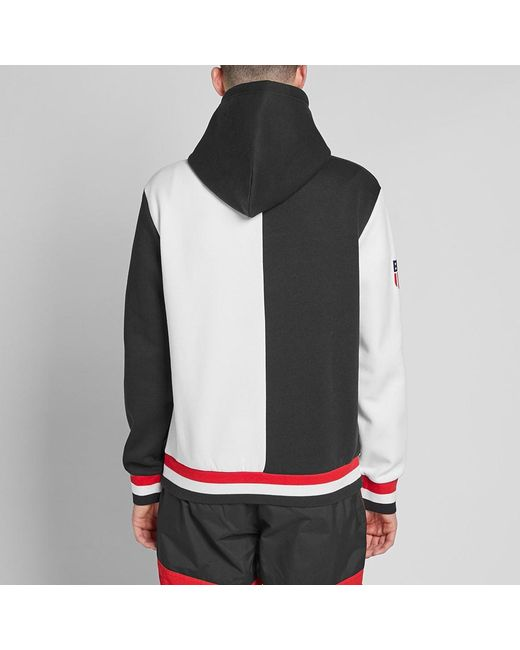 5cfa301d ... Polo Ralph Lauren - Black Winter Stadium Hoody for Men - Lyst ...