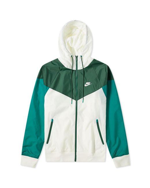 e1dc8050efab Nike Sportswear 2019 Hooded Windrunner Jacket In Green For Men Lyst