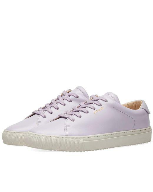 Axel Arigato - Purple Tennis Sneaker for Men - Lyst