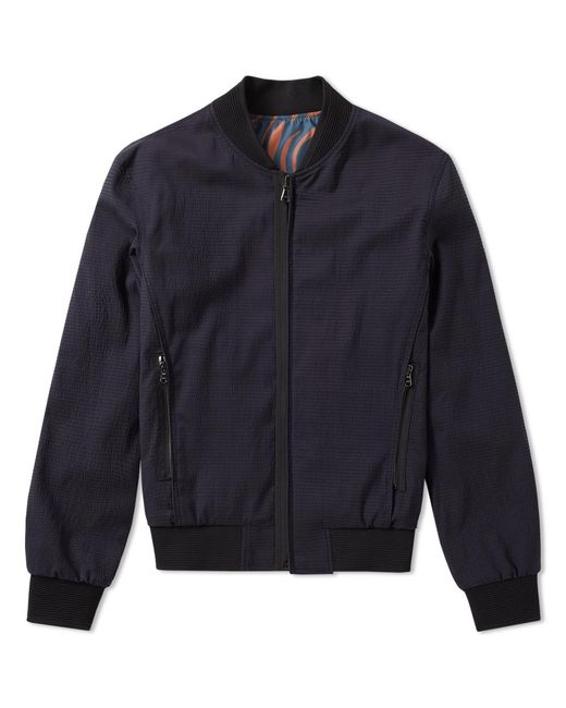 Wooyoungmi - Blue Reversible Bomber Jacket for Men - Lyst