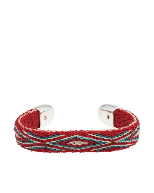 Chamula - Red Bendable Bracelet - Lyst