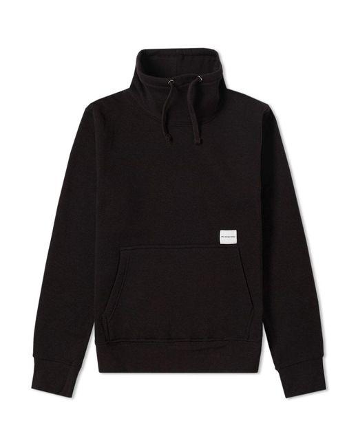 MKI Miyuki-Zoku - Black Funnel Neck Sweater for Men - Lyst