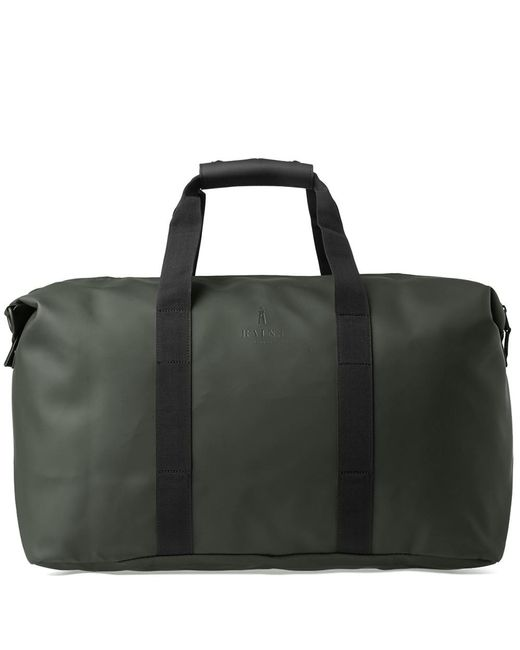 d363beb81d Lyst - Rains Water Resistant Weekend Bag - Green in Green for Men ...