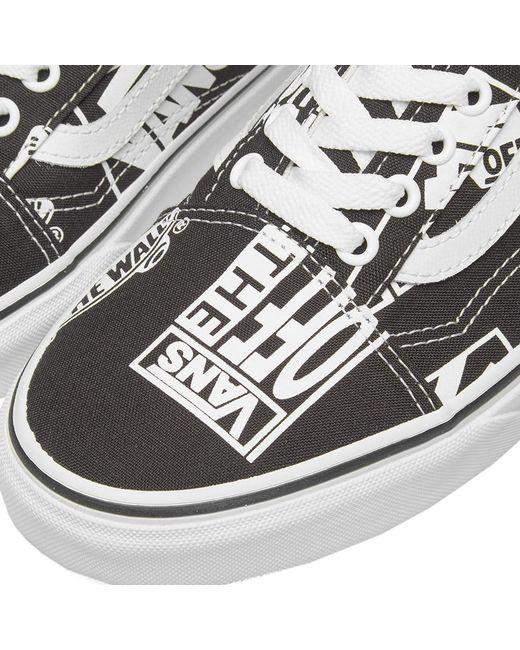 a4dc8ab363b Lyst - Vans Old Skool Retro Logo in Black for Men - Save 38%