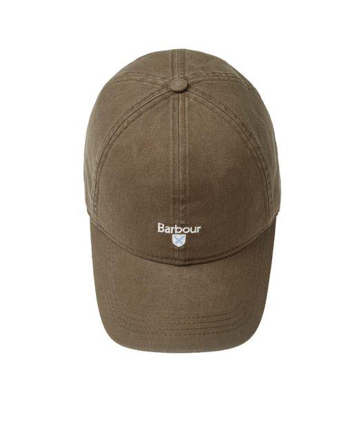 ... Barbour - Green Cascade Sports Cap for Men - Lyst ... 7e5435801209
