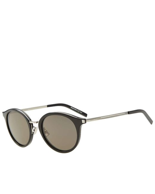 3a1100a6bf54 Saint Laurent - Black Sl 57 Sunglasses for Men - Lyst ...