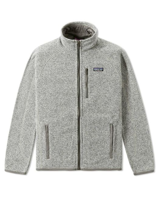 Patagonia | Gray Better Sweater Jacket for Men | Lyst